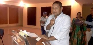 Wilbert Hernández Sierra, gobernador de La Guajira.