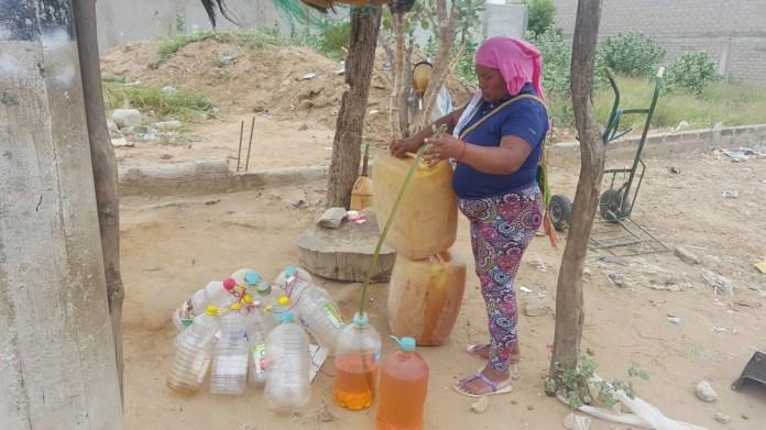 En cualquier sector de Riohacha, se consigue la gasolina económica, entre 11 y 13 mil pesos la brisa.