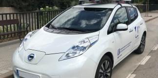 Este es el automóvil al cual le colocaron los sensores para recoger la información para luego tabularla y utilizarla para el fin deseado.