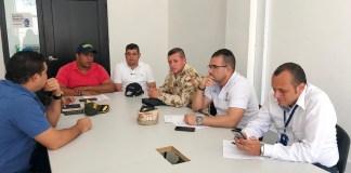 Este es el comité de orden público, que lo dirige la Secretaría de Gobierno, en cabeza de Ronal Favián Gómez García.