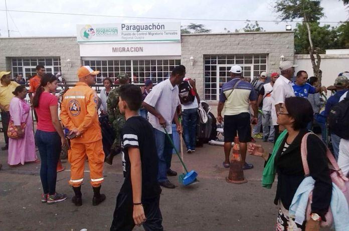 Se calcula que hay 160 mil migrantes venezolanos establecidos en La Guajira.