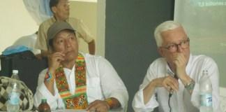 Feliciano Valencia y Jorge Robledo.