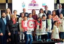 Aspecto de la inauguración del Banco de Alimentos de La Guajira