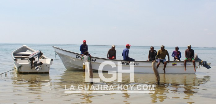 En Puerto Warreo, municipio  de Uribia, se celebró el Día Internacional de la Gente de Mar.