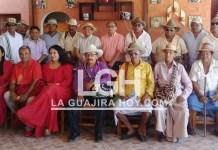 Estas autoridades de la etnia Wayúu integran el Consejo Superior de Palabreros.