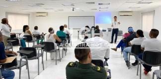 Los líderes de la comuna 10 de Riohacha fueron escuchados por el gerente de Electricaribe.