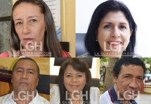 Grisela Monroy Hernández, Alba Lucia Marín Villada, Aloima Miranda Arregoces, Nubia Socarras Ramírez, Rafael Hidalgo Pérez Nieves.