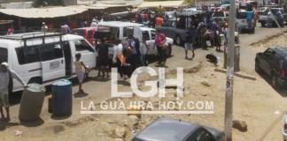Un desorden con el cierre de la frontera, se ha convertido el corregimiento de Paraguachón, específicamente La Raya.