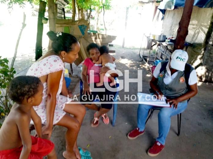 Una caracterización socioambiental se llevó a cabo en el barrio de invasión 16 de Julio del municipio de San Juan del Cesar.