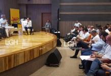 Al Encuentro asistieron estudiantes de UniGuajira, secretarios de Hacienda, jefes de Renta y coordinadores operativos de departamentos invitados como Atlántico, Magdalena, Sucre, Córdoba, San Andrés, Cesar y Bolívar.