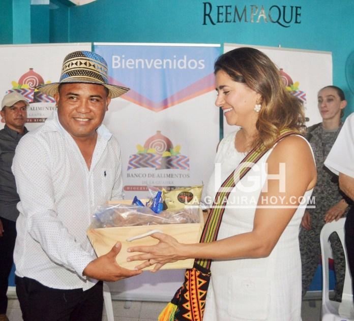 Estos son algunos de los alimentos que reciben los beneficiarios del Banco de Alimentos de La Guajira.