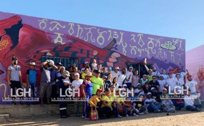 Jornada de salud fue una de las tantas actividades que realizaron en las dos comunidades de Maicao.