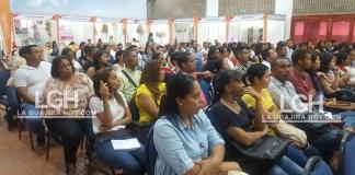 Los jóvenes estaban muy expectantes en la propuesta de Comfaguajira sobre economía naranja