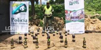 El decomiso de licor se traduce, en más de 20 millones de pesos