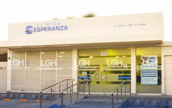 Esta es la Clínica Esperanza SAS.
