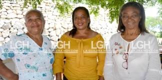 Ninfa Torres Peñalver, Carmen Ávila Rodríguez y Aga Rodríguez Manjarréz.