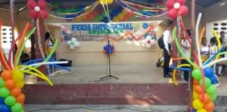 Estudiantes de la sede Mauricio López Sierra participaron de la XIII Feria Empresarial Isabelista