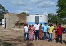 Otro micro acueducto, esta vez en la comunidad de Cucurumana.