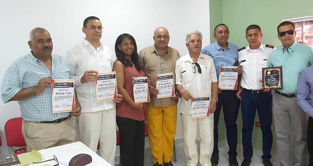 Bomberos Riohacha hace reconocimiento en 45 años de operatividad - La Guajira Hoy.com