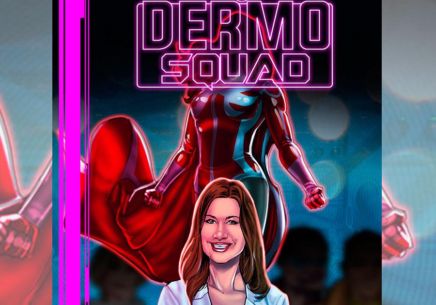 """#Liviandades   Presentan """"Dermo Squad"""", un cómic sobre cuidados de la piel"""
