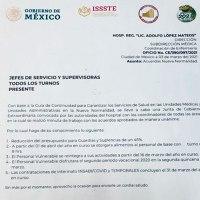 #Actualidades |  ISSSTE anuncia despido de personal