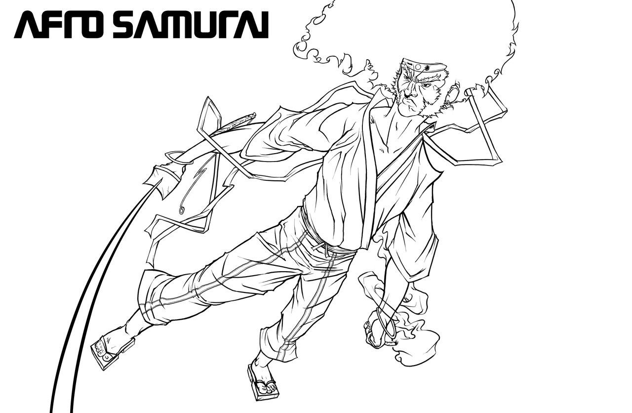 31 Dessins De Coloriage Samourai A Imprimer Sur Laguerche