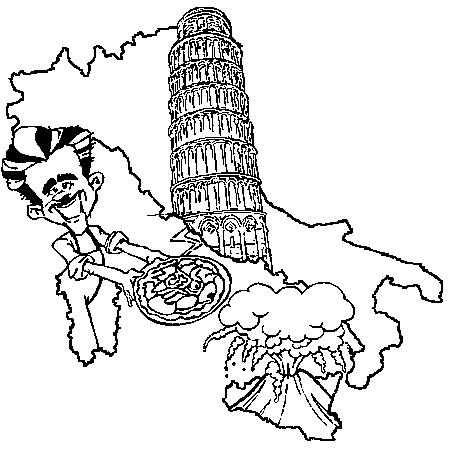 51 Dessins De Coloriage Italie Imprimer Sur LaGuerche
