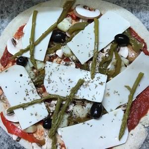 Pizzas végétales
