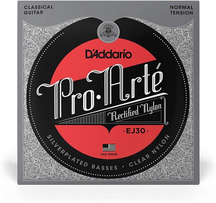 Cuerdas de guitarra flamenca D'Addario ProArté EJ30.