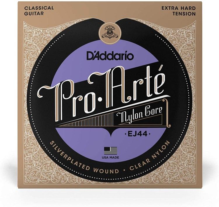 Cuerdas de guitarra flamenca Daddario Pro-Arté EJ44.