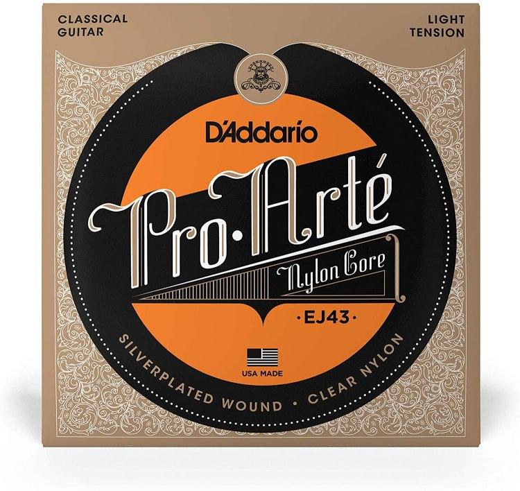 Cuerdas de guitarra flamenca Daddario Pro-Arté EJ43