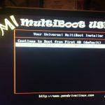 YUMI boot menu