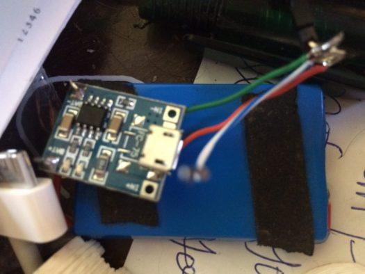 CHIP 3.7v LiPO battery