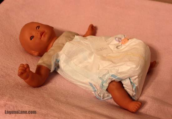 DIY Baby Doll Diapers | LagunaLane.com