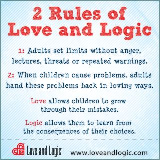 Love and Logic Cheat Sheet Notes | Laguna Lane