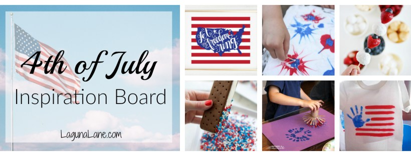 4th of July Inspiration Board | Laguna Lane
