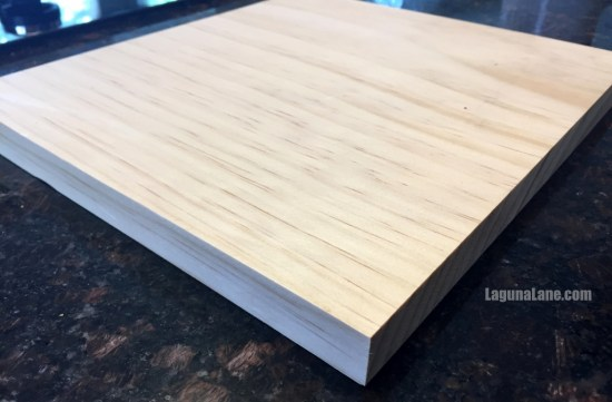 DIY Wood Photo Clipboard - Raw Wood | Laguna Lane