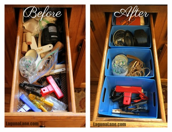 Organize Your Drawers - Before & After 3 | Laguna Lane