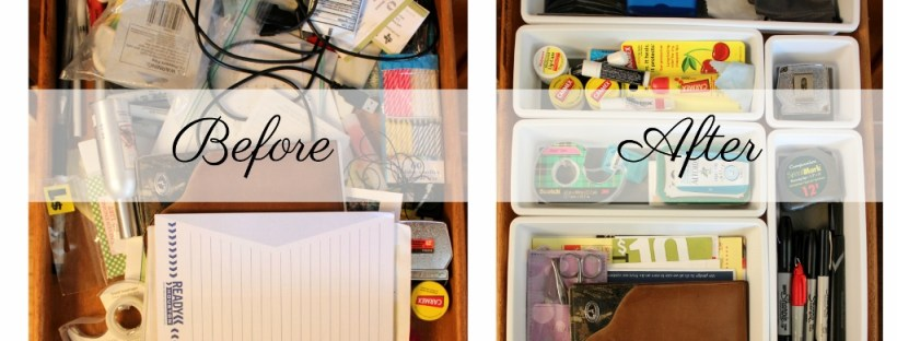 Organize Your Drawers -Banner | Laguna Lane
