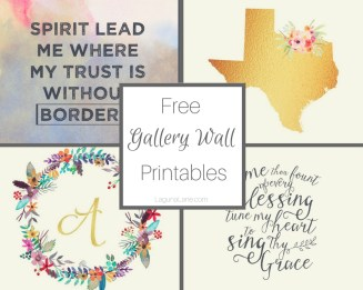 Free Printables and Artwork for Gallery Wall | Laguna Lane
