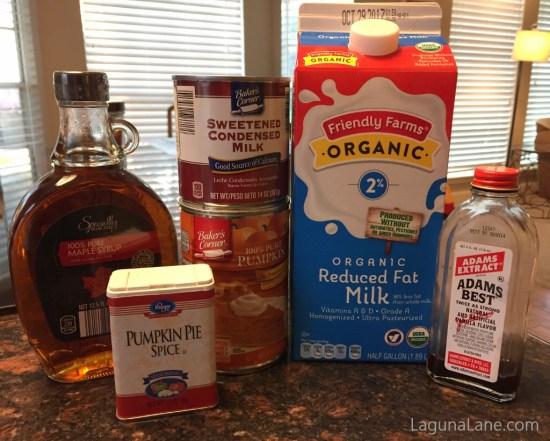 Homemade Pumpkin Coffee Creamer - No Artificial Ingredients! | Laguna Lane