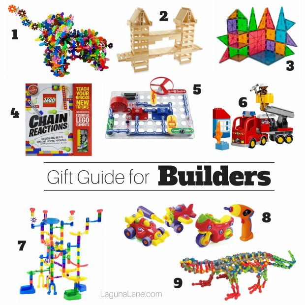 Builder Gift Guide for Kids Who Love to Build & Engineer | Laguna Lane