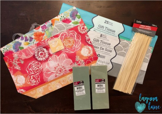 Teacher gift card bouquet cute easy to assemble laguna lane teacher gift card bouquet diy gift card presentation with dollar tree supplies great for negle Choice Image