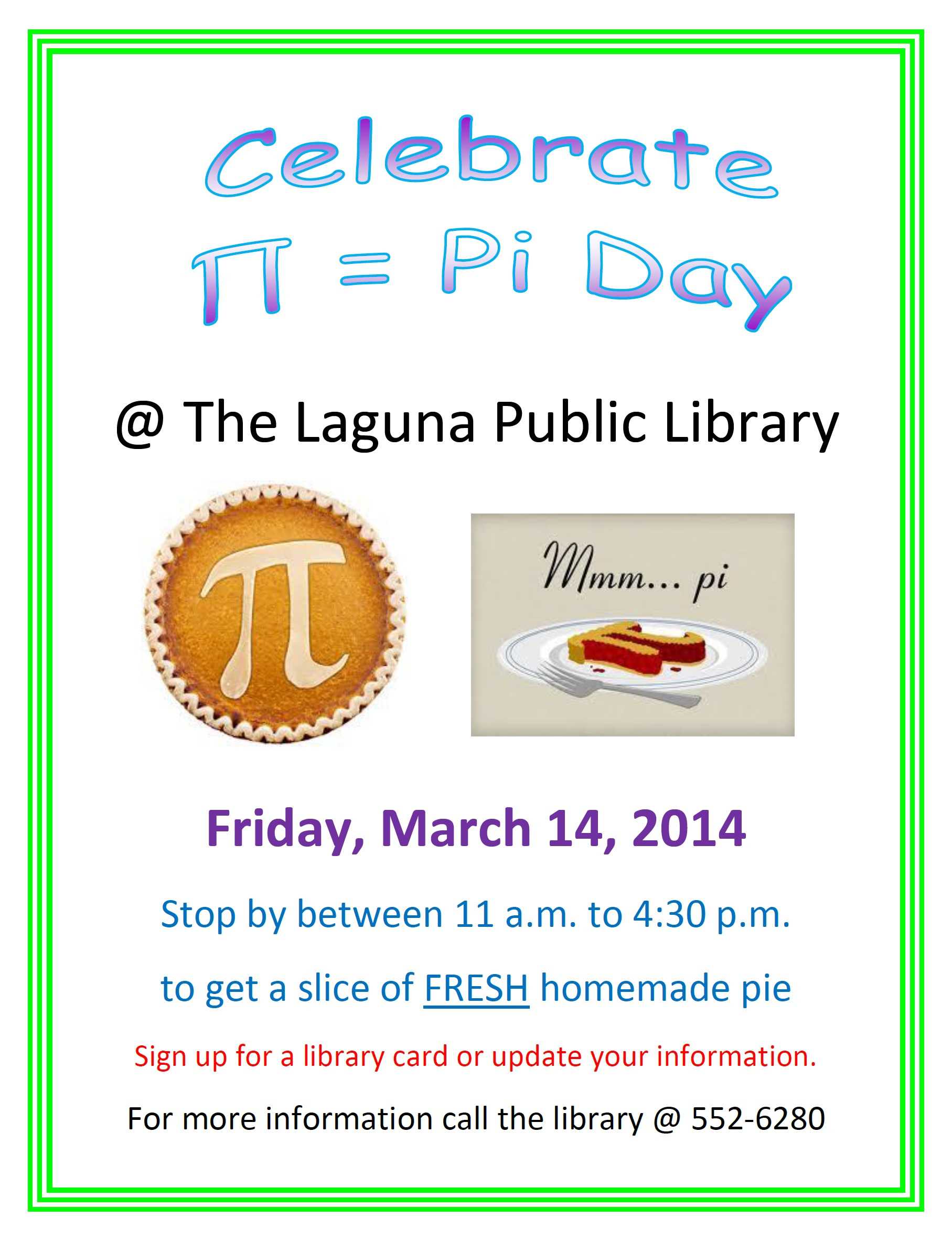 Celebrate Pi Day On Friday March 14