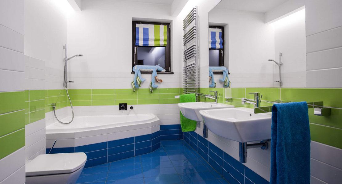Terapia cromática para baños