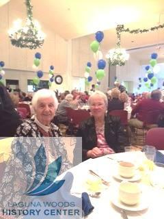 Lee Bevilacqua & Trish Cassidy attending the 2016 Volunteer Luncheon hosted by GRF — at Clubhouse 5 in Laguna Woods.
