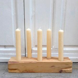 velero candelabro madera rustico velas objetos reciclados reutilizacion ideas decoracion restauracion