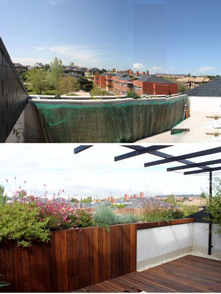 Terraza pequeña con mucho encanto | La Habitación Verde