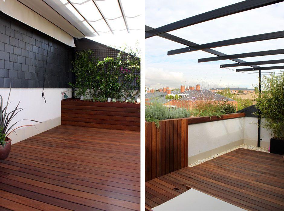 jardin terraza encinar moraleja