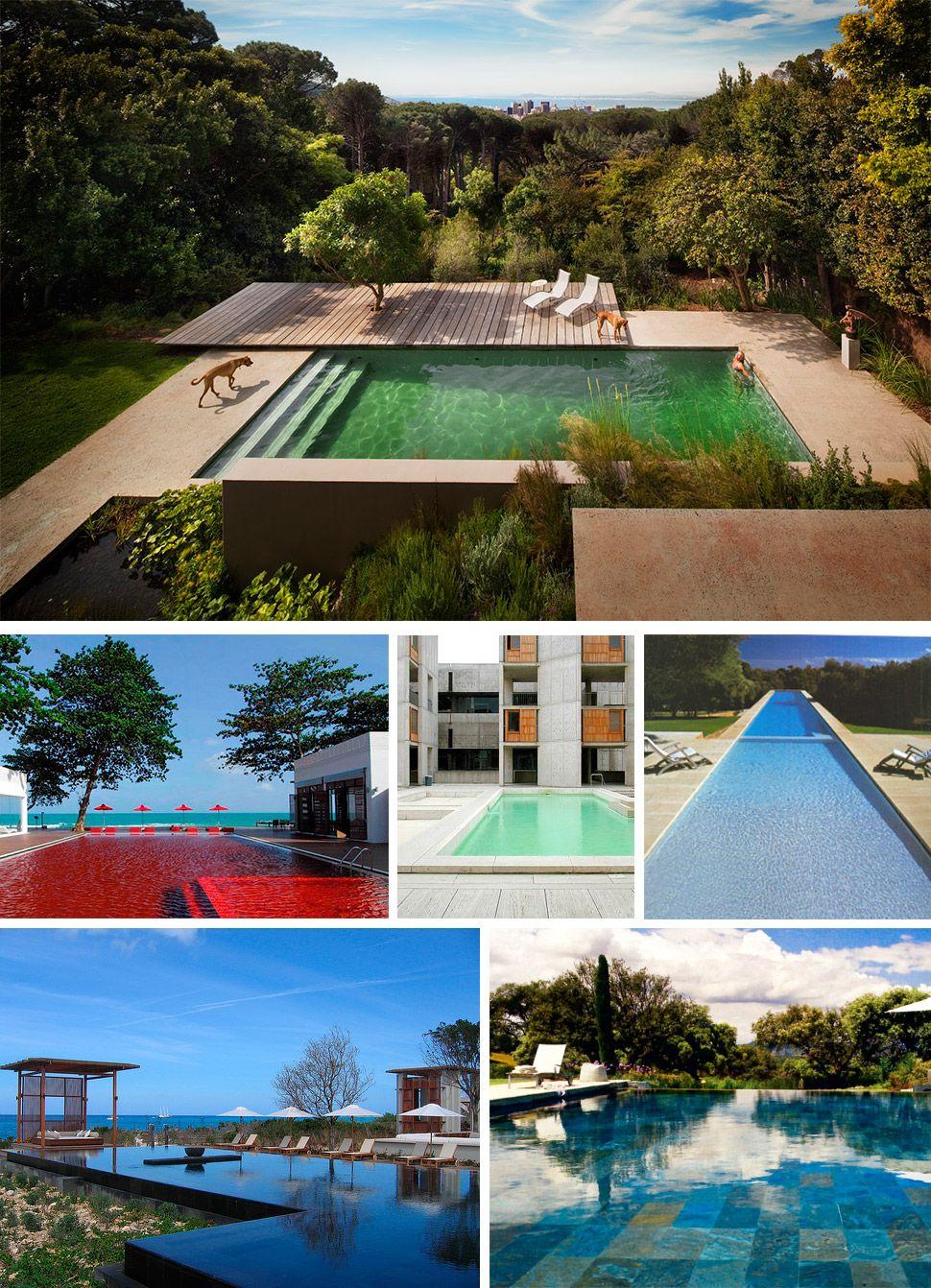 piscinas de diseño | la habitación verde
